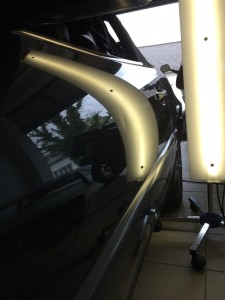 Delle entfernen Mercedes Benz SL500 vorher